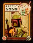Fett's Boba - Boba Fett Star Wars Propaganda Art