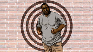 Eric Garner I CANT BREATHE by HalHefnerART