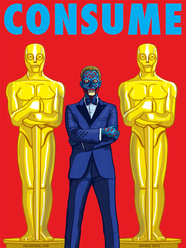 The-REAL-Oscars-neil-patrick-harris-THEY LIVE by HalHefnerART