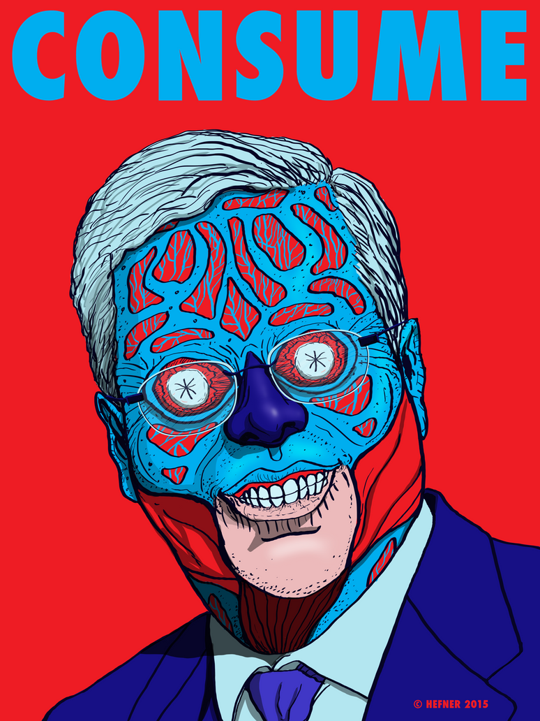 Jeb Bush-Consume THEY LIVE by HalHefnerART