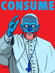 Pope Francis - CONSUME - They Live