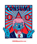 CONSUME - DONALD TRUMP - 7 Deadly Sins GREED