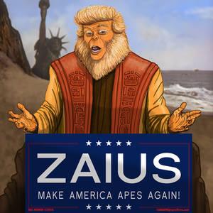 TRUMP as DrZAIUS Make America Apes Again