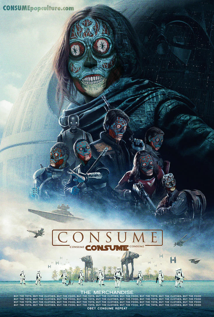 ROGUE ONE - CONSUME by HalHefnerART
