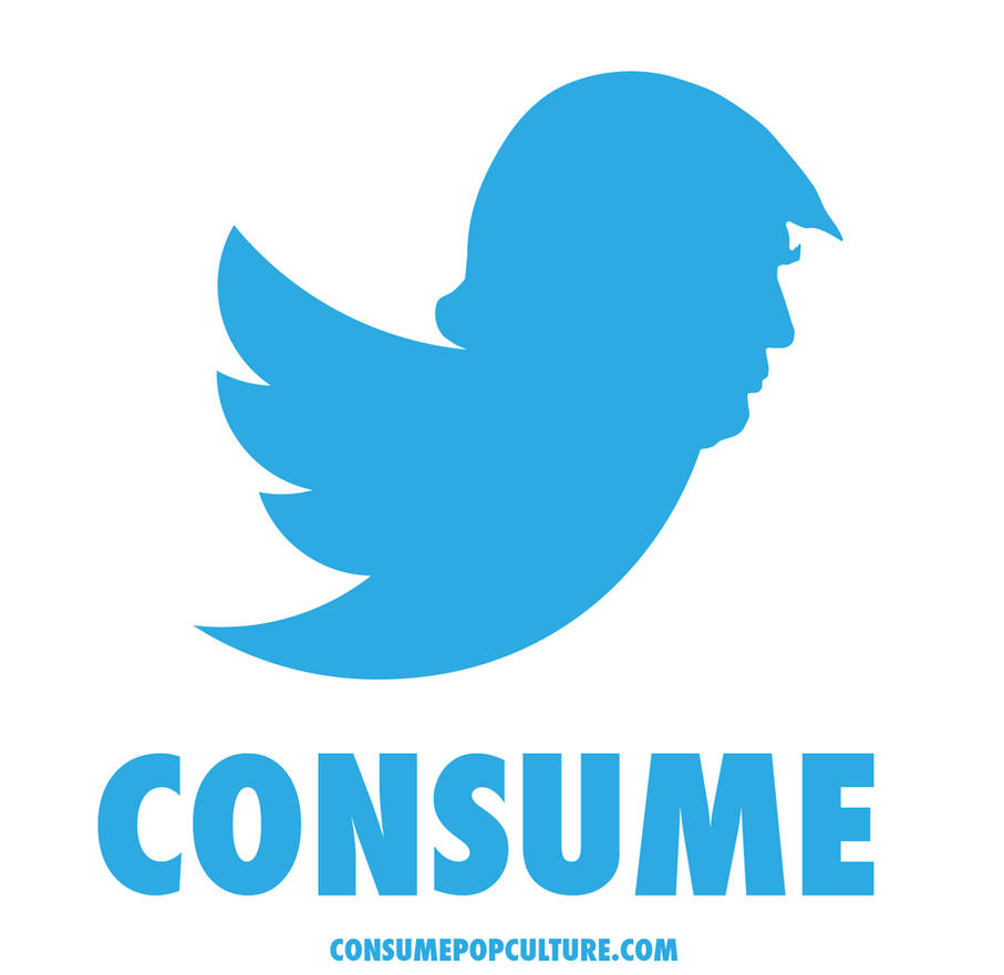 Trump Twitter A Logo Mashup Of Trump And Twitter 658364529