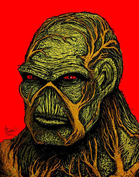 Swamp thing 1 - hal hefner