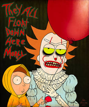 AN IT AND RICK AND MORTY MASHUP