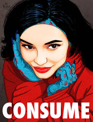 KYLIE JENNER MASK - CONSUME THEY LIVE