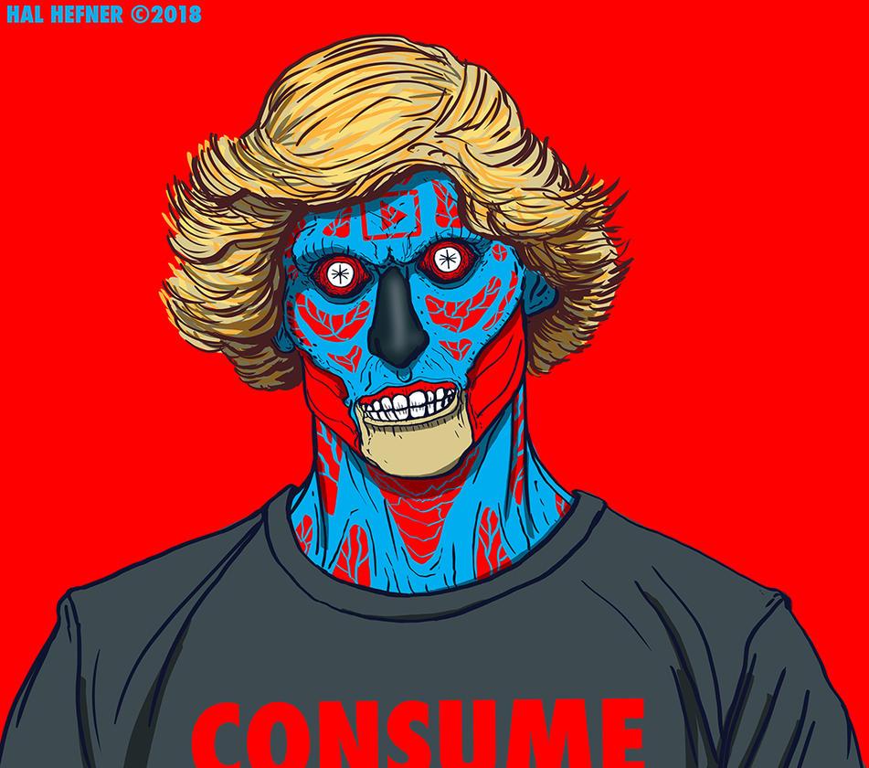 Logan Paul - Consume- THEY LIVE by HalHefnerART