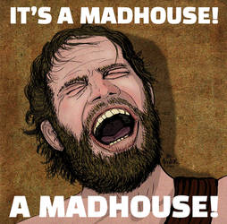 ITS A MADHOUSE CHARLTON HESTON PLANET OF THE APES