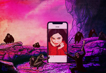 2001 Kylie Jenner and her apes of Instagram