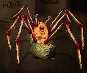 THE THING - TRUMP SPIDER HAL HEFNER by HalHefnerART
