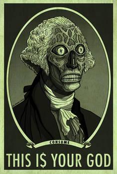 THEY LIVE HAL HEFNER  George Washington CONSUME