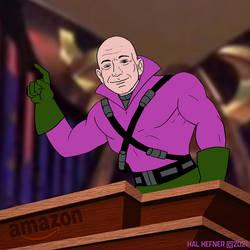 Jeff Bezos Is Lex Luthor - Hal Hefner