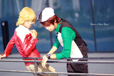 Tiger And Bunny    Have a Nice Day