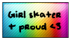 .:+Girl Skater and Proud+:. by xMissArtisticx