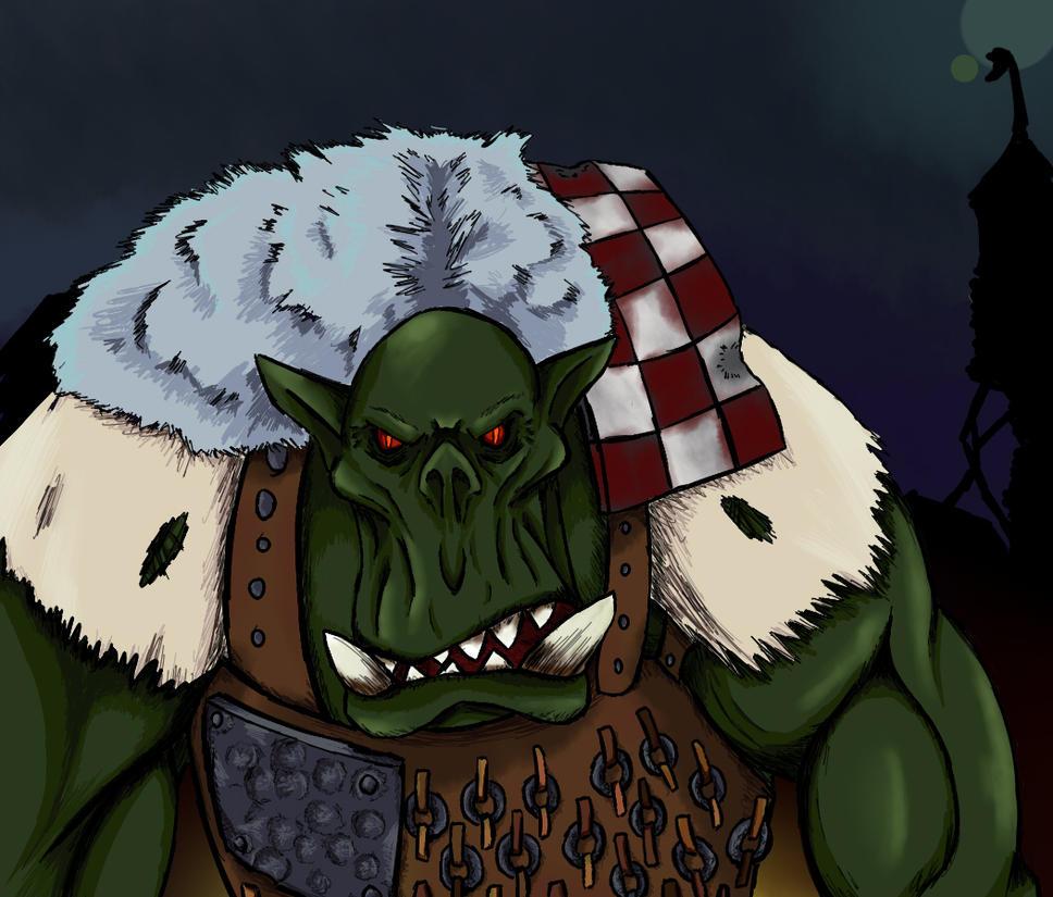 Ork Warboss by sordcooper2