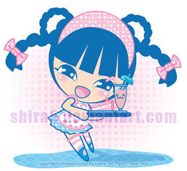 Mina, the cute waiter by Cukismo