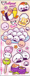 Japan food Stickers by Cukismo