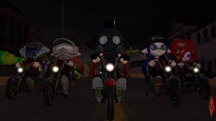 (SFM) Lost Inkling Riders by macl6785