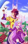 Sora and Shiro No Game No Life