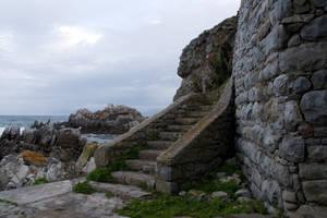 stock...  De Kelders Stairs by RhysBriers