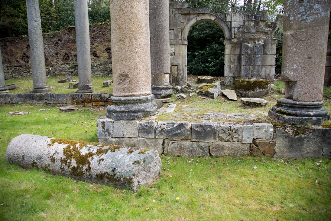 Stock...  Virginia Water Roman Ruins 1 by RhysBriers