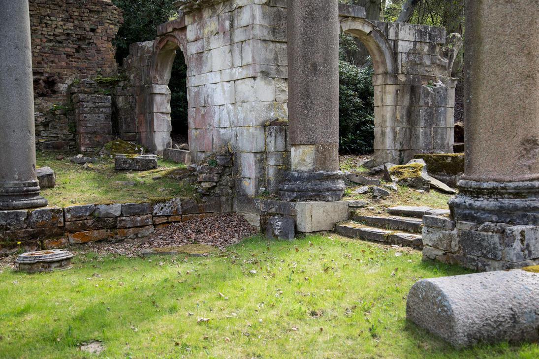 Stock... Virginia Water Roman Ruins 2 by RhysBriers
