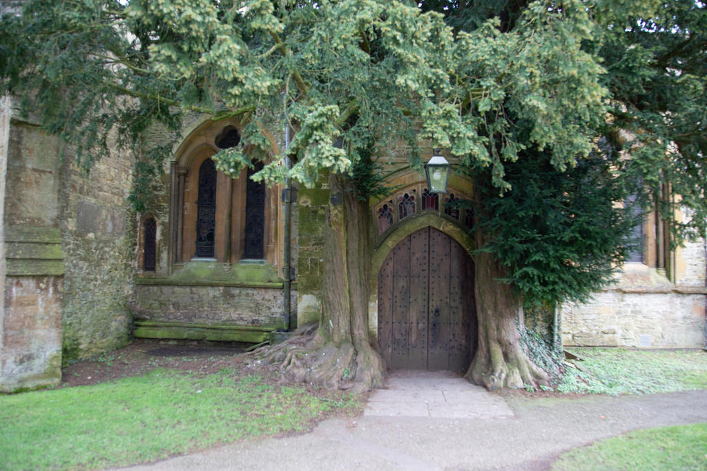 Stock - St Edwards Church Doorway by RhysBriers