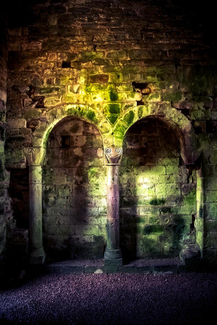 Stock - Ludlow Castle 2 by RhysBriers