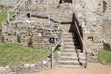 Stock...  Carisbrooke castle 5 by RhysBriers