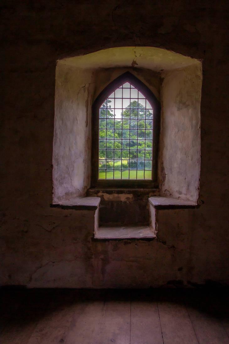 Stock - Castle Window by RhysBriers