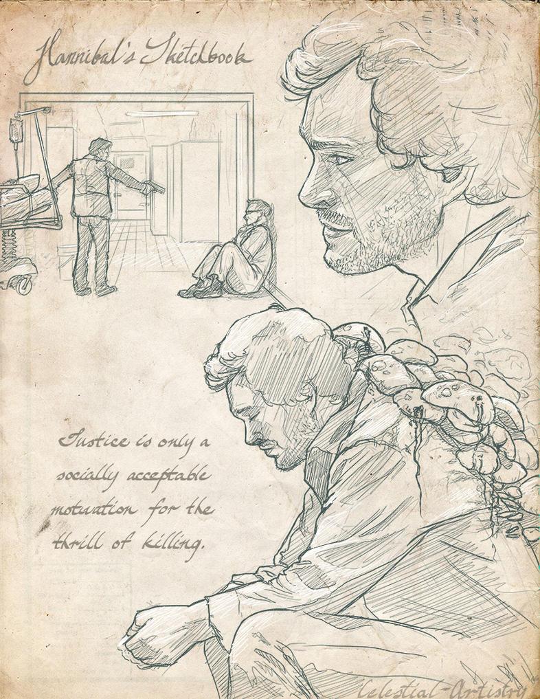 Hannibal's Sketchbook 009 by Ligers-mane