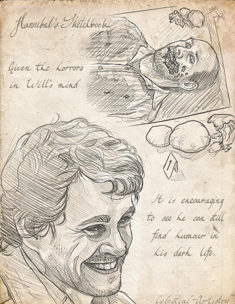Hannibal's Sketchbook 007 by Ligers-mane