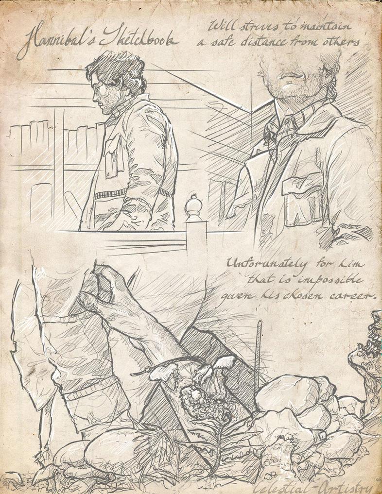 Hannibal's Sketchbook 006 by Ligers-mane