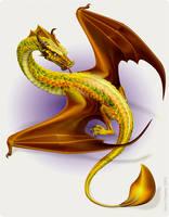 Dragon by elorhir