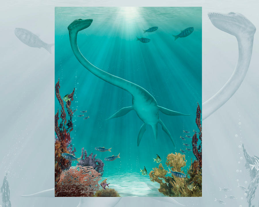 Futabasaurus by elorhir