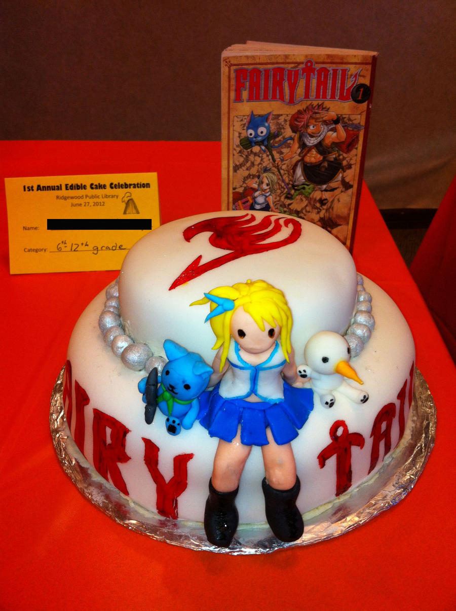 Fairy Tail Cake! by All0fTheAbove on DeviantArt
