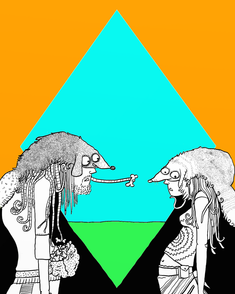 Doubledoggie3 by orangenblonde