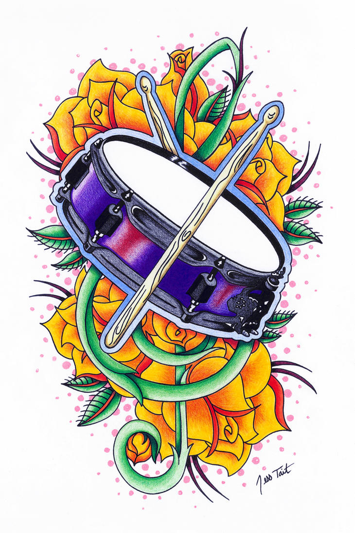 Drum Tattoos