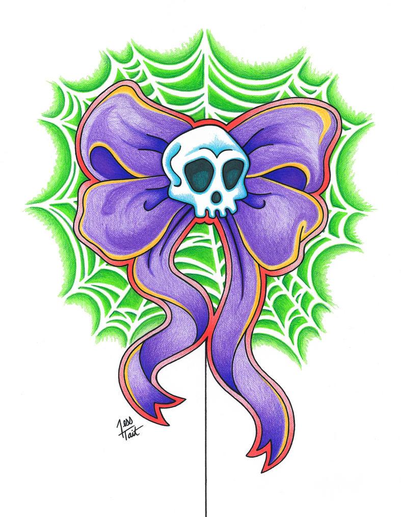 pretty skull and webs tattoo by gorejessghouls on deviantart. Black Bedroom Furniture Sets. Home Design Ideas