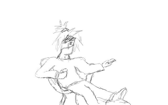 Sketch: Taking it Easy by EthanPow