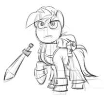 Ponified Ethan Pow Sketch