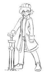 [Commission] Ethan Pow Sketch