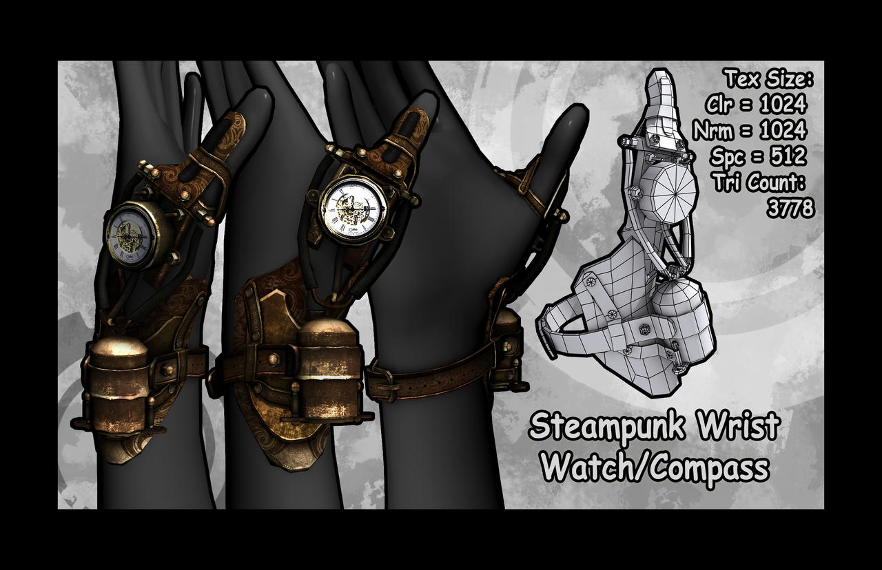 Retrowerk Steampunk Watch - The Awesomer
