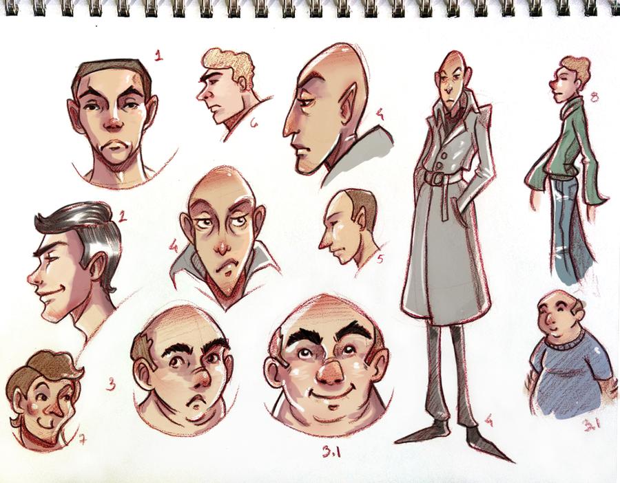 Character design 001 by Nasuko