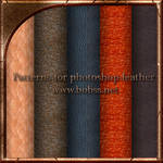 Patterns for photoshop-leather
