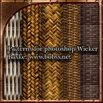 Patterns for photoshop-Wicker Basket