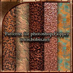 Patterns for photoshop-Copper