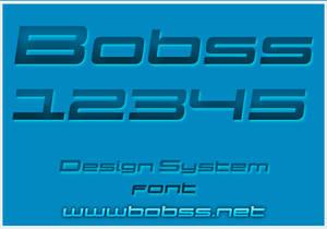 Design System font